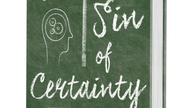 The Sin of Certainty [OR Catholics and Lutherans' Risk of Faith] John 9:1-21