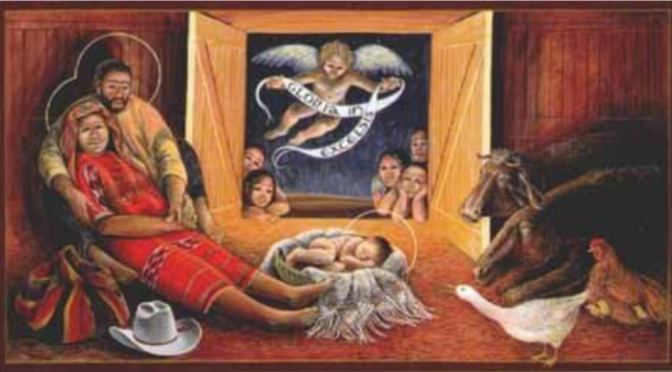 Praise the Sweet Baby Jesus!  Luke 2:1-20 and Isaiah 9:2-7