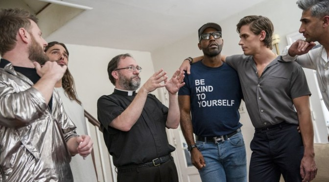 """The Blame Game [OR What Does """"Queer Eye"""" Have Do with the Church?] Genesis 3:8-15 and Mark 3:20-35"""